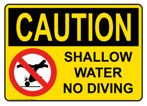 Knowing when you are working in the shallows might keep you from being stupid.